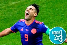 Falcao cumplió su sueño, convirtiendo su primer gol en Copa del Mundo y pone a soñar a Colombia