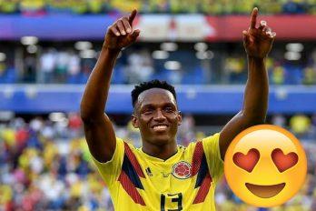 Yerry Mina hizo vibrar a todo Colombia al marcar su gol y lograr la clasificación de la Selección