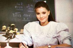 """¿Recuerdas a la 'Maestra Ximena' de """"Carrusel"""" Así se ve ahora. ¡Jamás te olvidaremos maestra!"""