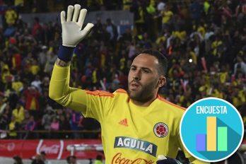 Turquía o México serían los destinos probables de David Ospina al terminar el Mundial. ¿Cuál prefieres?
