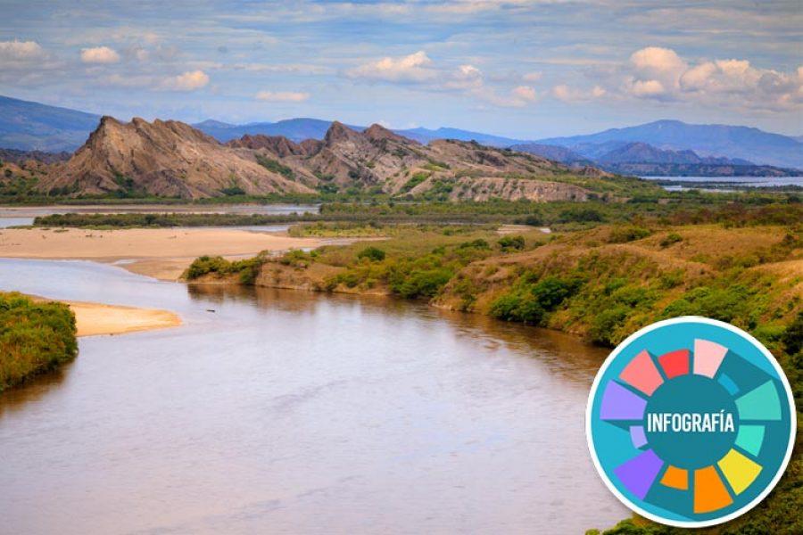 El río Magdalena está en emergencia por derrame de petróleo en sus aguas. ¡Triste noticia!