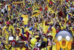 Estas son las 'colombianadas' que están sucediendo en el Mundial de Rusia