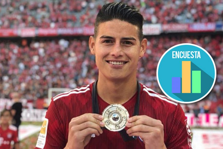 El detalle del Bayern Múnich con James Rodríguez que le está dando la vuelta al mundo