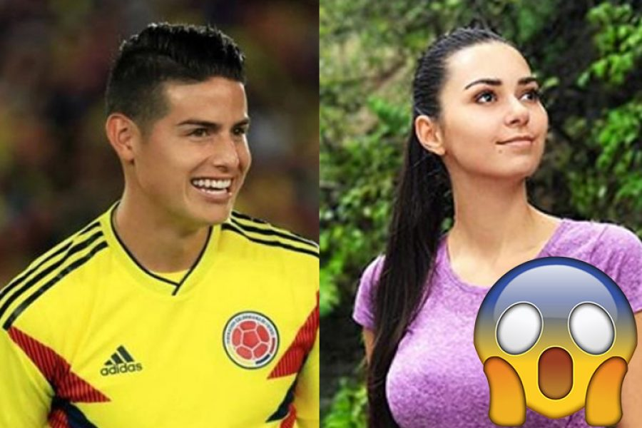 James Rodríguez rechazó a la modelo rusa Helga Lovekaty durante la Copa del Mundo. ¡No lo podrás creer!