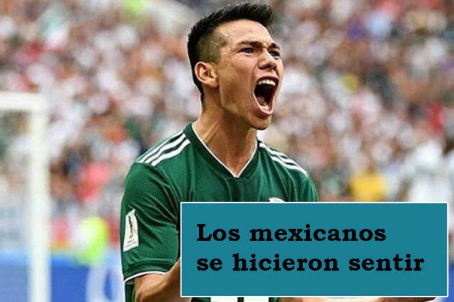 Sismo en Ciudad de México en el momento del gol de la selección frente Alemania