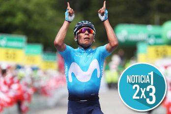 Nairo Quintana se coronó en la séptima etapa del Tour de Suiza