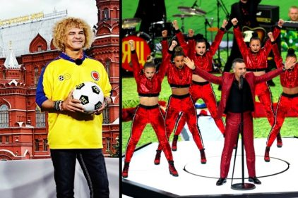 Las sorpresas en la inauguración del Mundial de Rusia, ¡curiosidades que solo se ven en estos eventos!