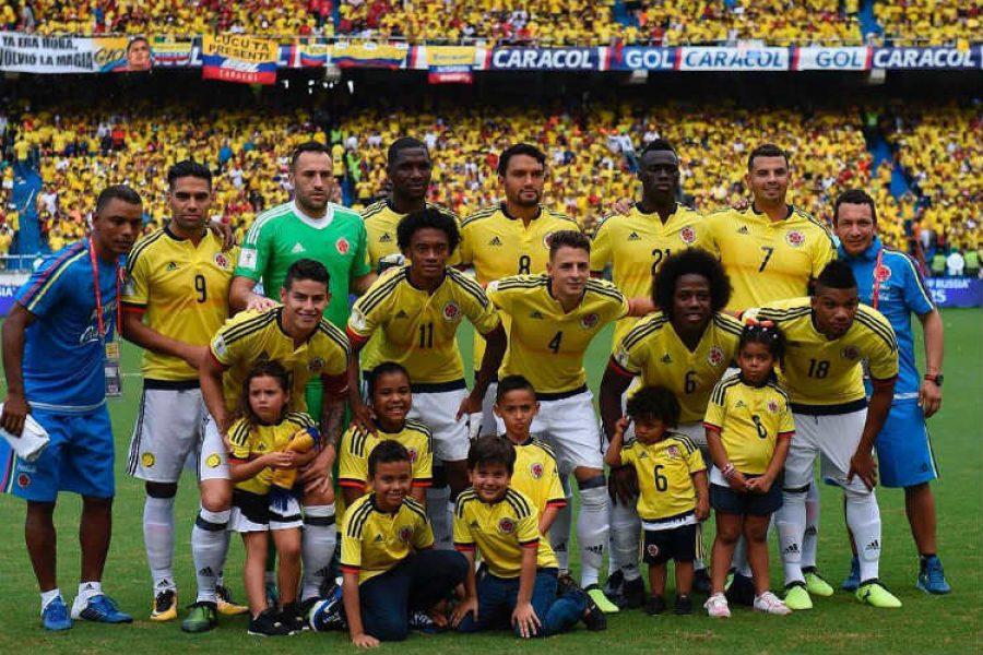 Así apoyan los hijos de los jugadores de la Selección Colombia a sus padres. ¡Hermosos!