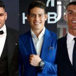 Falcao y Cristiano, los mejores delanteros del mundo según James