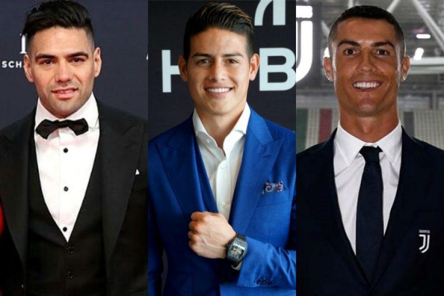 Radamel Falcao y Cristiano Ronaldo, son los mejores delanteros del mundo según James Rodríguez