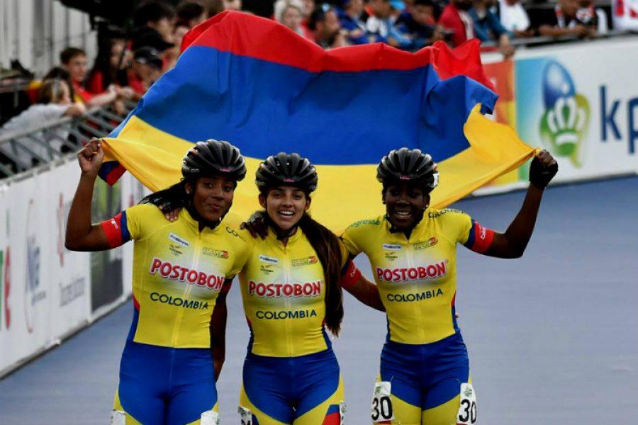La delegación colombiana de patinaje es campeona. Este título lo ha obtenido por 7 años consecutivos