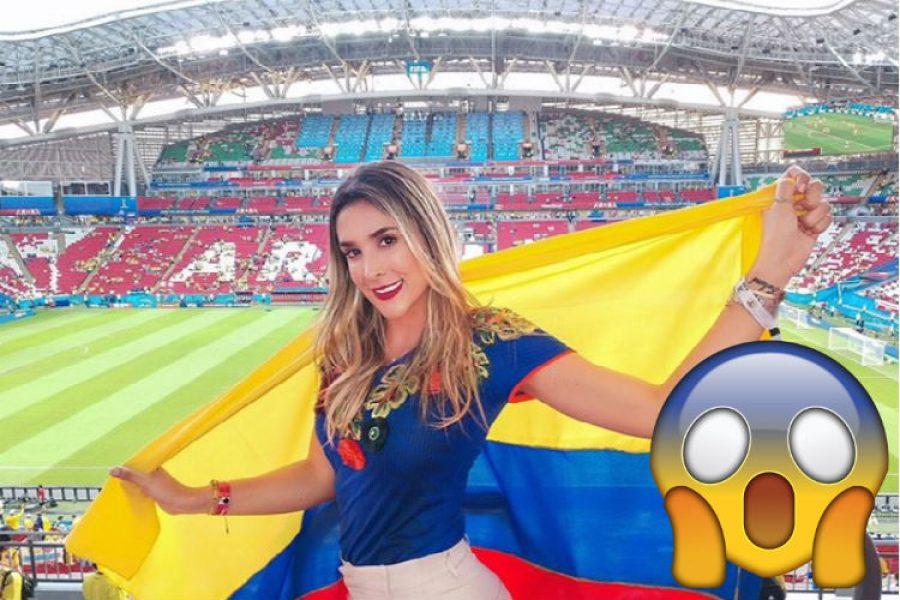 Así reaccionó Daniela Ospina frente al arbitraje de Mark Geiger en el partido de la Selección Colombia