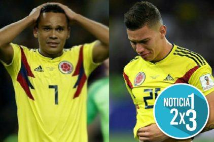 Así se disculparon Bacca y Matheus Uribe por fallar los tiros desde el punto de pena Máxima en el Mundial