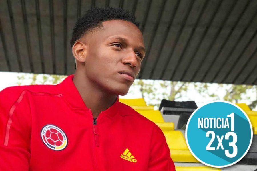 Con esta lesión terminó Yerry Mina el partido de la Selección Colombia ante Inglaterra en octavos de final