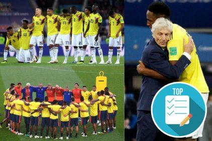 Conmovedoras reacciones de jugadores de la Selección Colombia tras la eliminación del Mundial