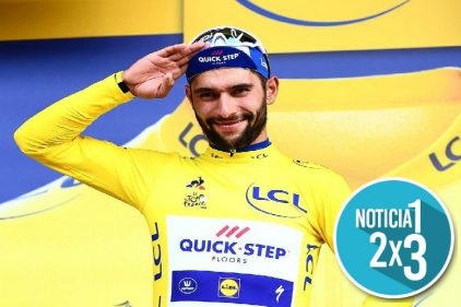 En la cuarta etapa del Tour de Francia, Fernando Gaviria se corona como campeón
