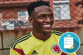 Yerry Mina es el jugador estrella de la Selección Colombia y estos 5 momentos han marcado su vida