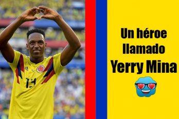 Yerry Mina, el hombre que ilusionó a toda Colombia en la Copa Mundo de Rusia