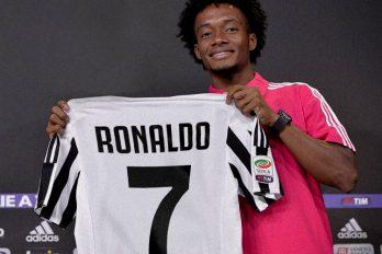 Cuadrado le envió este mensaje a Cristiano Ronaldo tras su llegada a la Juventus. ¡Panita: bienvenido!