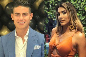 El supuesto beso entre James y Daniela Ospina que deja mucho qué pensar ¿Será que están juntos?