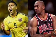 Michael Jordan y Radamel Falcao, deportistas con el mismo sueño y que no pudieron cumplir