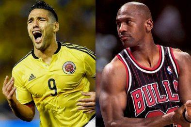 ¡Los grandes también sufren! Michael Jordan y Radamel Falcao, comparten un sueño que no pudieron realizar