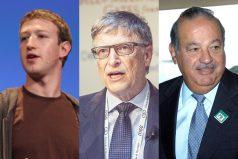 Los 10 hombres más ricos del mundo según Bloomberg. ¡No creerás los millones que tienen!