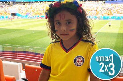 Salomé apoyó a un jugador de la Selección Colombia diferente a James. ¡No creerás de quien se trata!