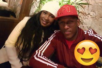 De esta manera la esposa de Yerry Mina consoló al jugador después de quedar eliminado del Mundial