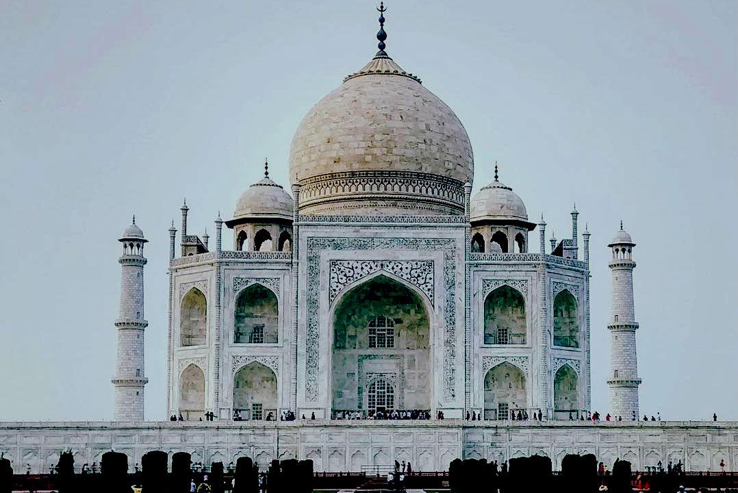 ¿Por qué se está poniendo verde el Taj Mahal?