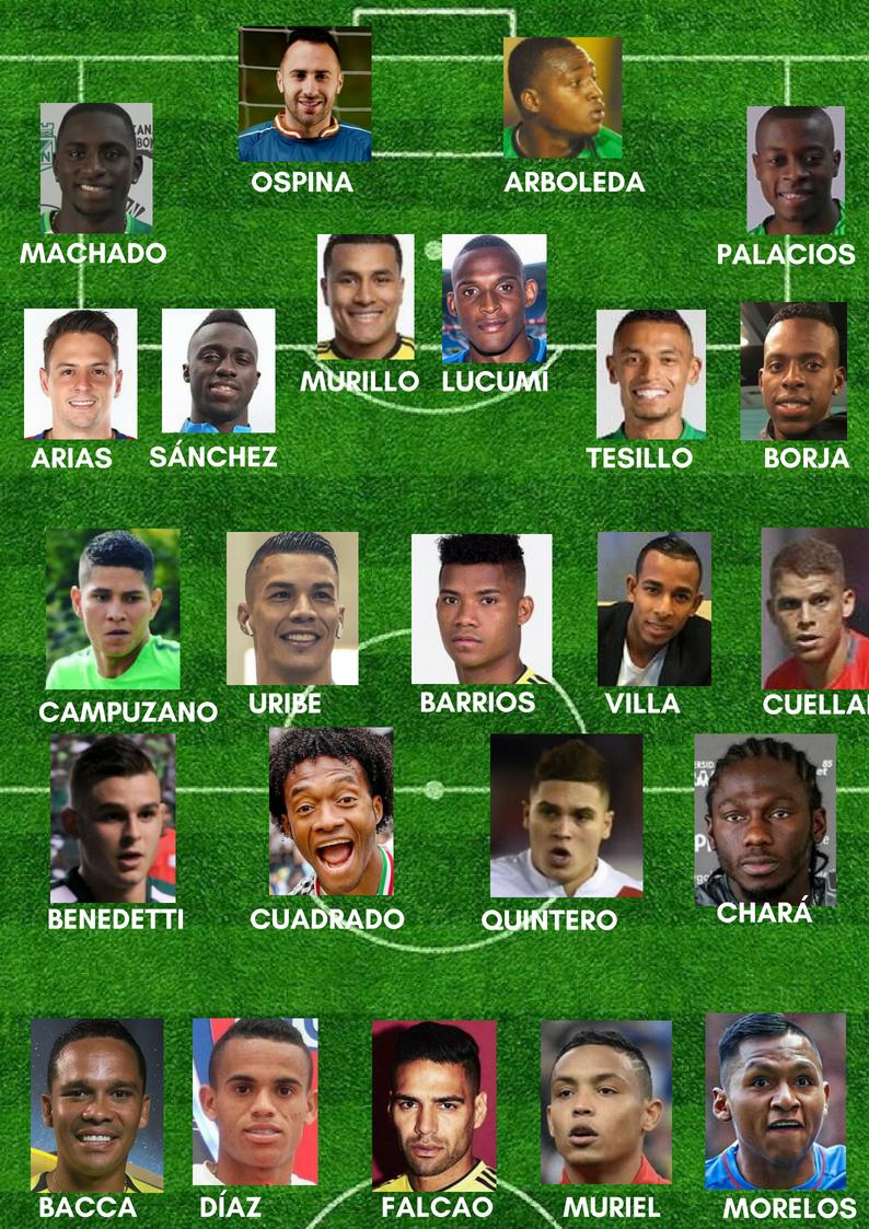 Definidos los convocados de la Selección para partidos amistosos