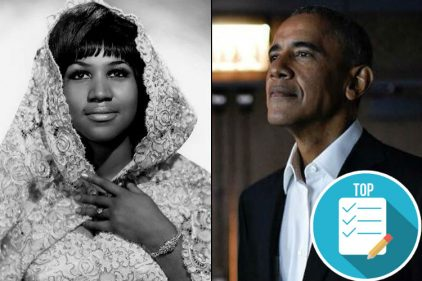 Aretha Franklin, 'La Reina del Soul' que hizo llorar a Barack Obama. ¡Estas son sus mejores canciones para recordar!