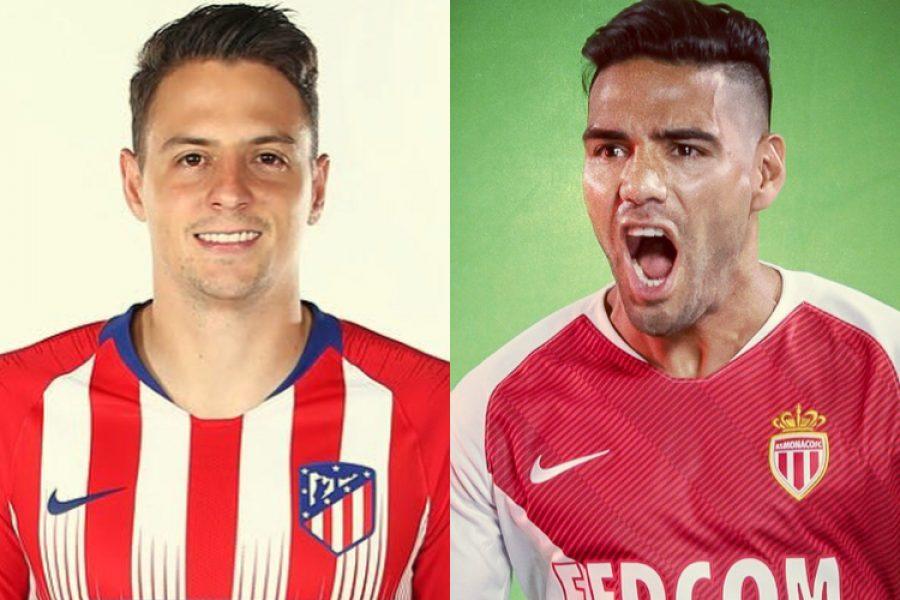 """Santiago Arias: """"Falcao fue una de las motivaciones para llegar al Atlético"""". Así lo dijo en su presentación en el Atlético"""