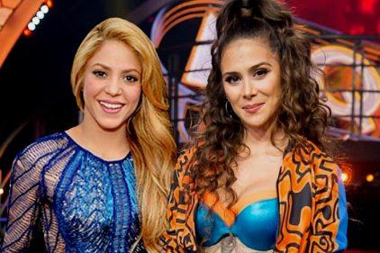 ¿Shakira quedó enamorada del baile de Greeicy Rendón? ¿Pensará llevársela a una de sus giras?