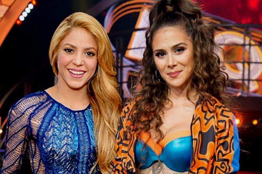 Shakira Quedo Enamorada Del Baile De Greeicy Rendon Pensara Llevarsela A Una De Sus Giras Elnoti Com