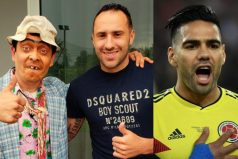 David Ospina le cumplió el sueño a Suso, lo hizo hablar con el Tigre Falcao García. ¡Un gran regalo!
