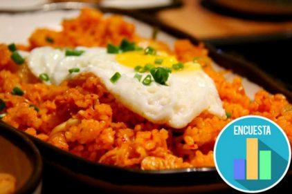 El arroz con huevo es la comida favorita de los colombianos según encuesta del Dane. ¡MMM, delicioso!