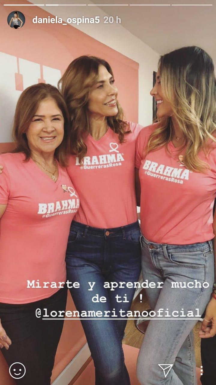 La enseñanza de Lorena Meritano a Daniela Ospina y a todas las mujeres del país