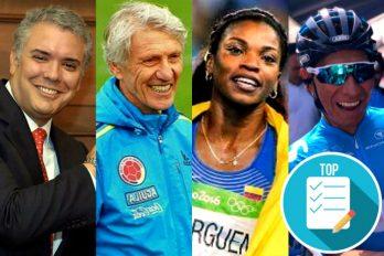 Presidente Duque llamó a Pékerman, pero además felicitó a Ibargüen, Quintana, Urán y López