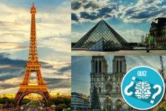 ¿Quieres viajar a París? Antes de hacerlo anímate y responde este quiz. ¡Estás preparado!