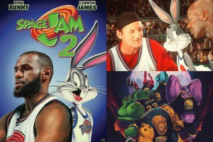 Regresa la película Space Jam 2. No estará Michael Jordan pero si la estrella de la NBA LeBron James