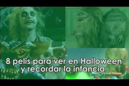 Disfruta Halloween recordando estas buenas películas. ¡Nada mejor para revivir la infancia!