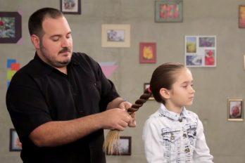 El peinado puede ser la mejor forma de fortalecer una relación entre padre e hija. ¡Ellos lo demuestran!