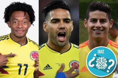 Con este test descubrirás qué jugador de la Selección Colombia eres. ¡Un juego muy divertido!