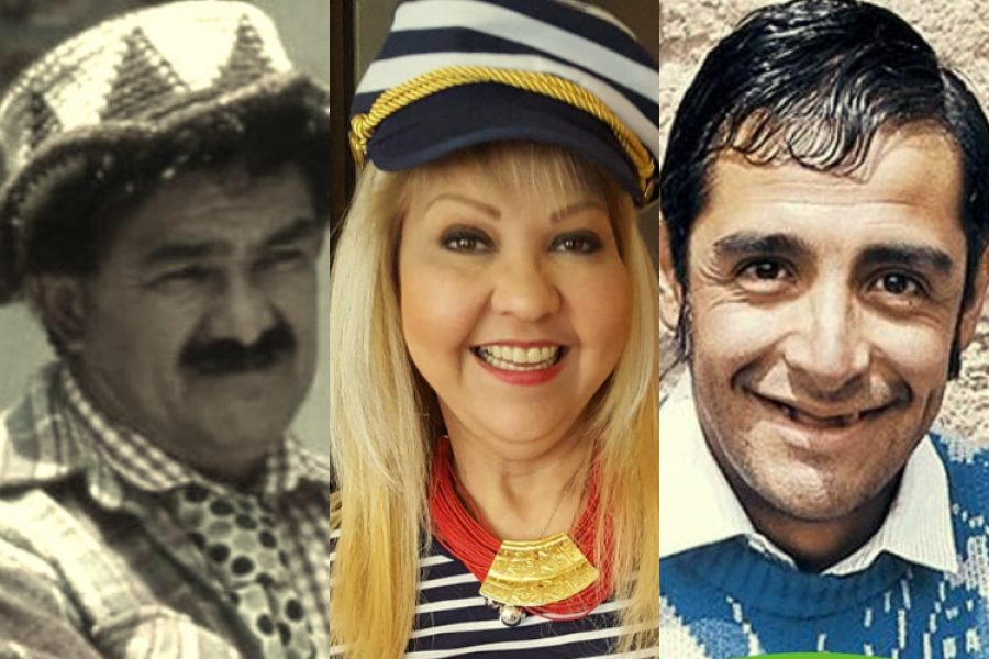 8 personajes que con humor han marcado el corazón de todos los colombianos. ¡Gracias por tantas alegrías!