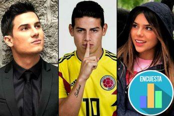 Pipe Bueno está coqueteando con Juana Valentina, la hermana de James Rodríguez