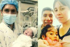 Con esta bonita foto, Nairo Quintana presenta al mundo a su segundo hijo ¡Felicitaciones campeón!