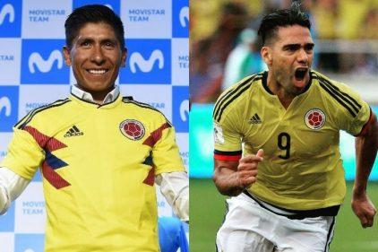 ¿Qué tienen en común Nairo Quintana y Falcao García? ¡Dos colombianos que nos llenan de orgullo!