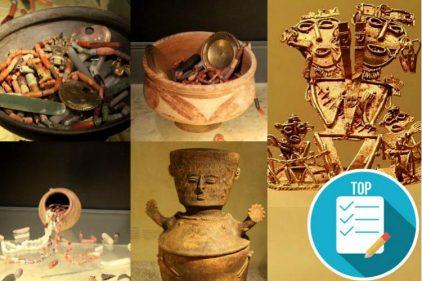 Colombia recupera un tesoro de 29 piezas de arte precolombino gracias a Estados Unidos