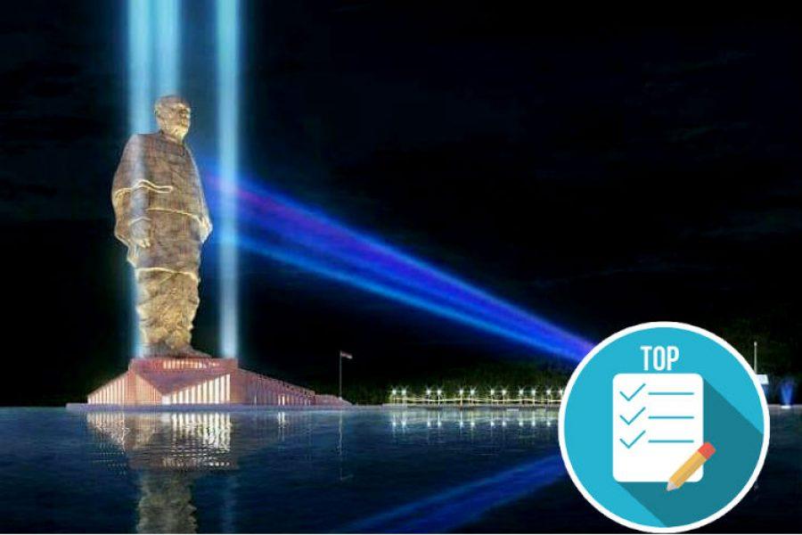 India inauguró la estatua más grande del mundo y rompe un récord difícil de superar